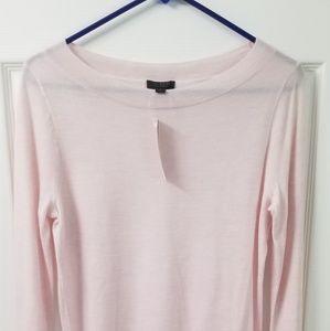 Crew Everyday Cashmere Ruffle Sleeve Sweater
